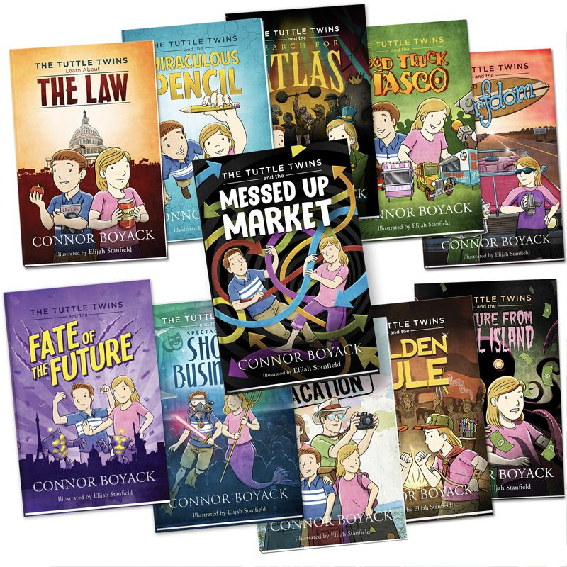 Tuttle Twins Complete Series for Children (11 books, for ages 5-11)