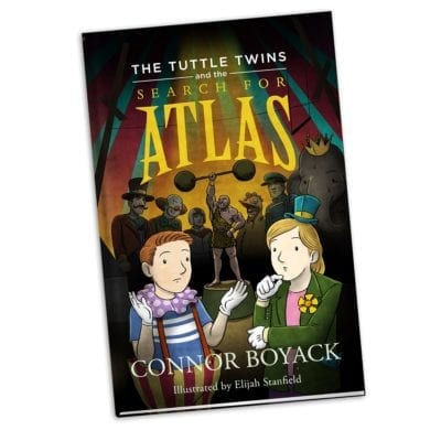 Book 7: The Tuttle Twins and the Search for Atlas (ages 5-11)