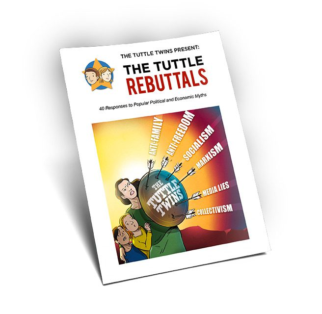 Tuttle Rebuttals: 40 Responses to Popular Political and Economic Myths (PDF)