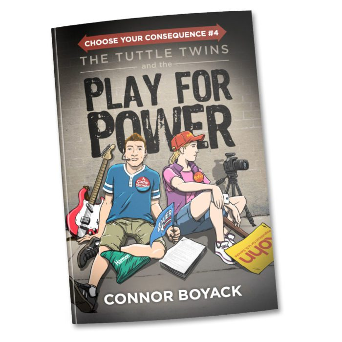 The Tuttle Twins and the Play for Power